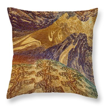 An Act Of Creation Throw Pillow