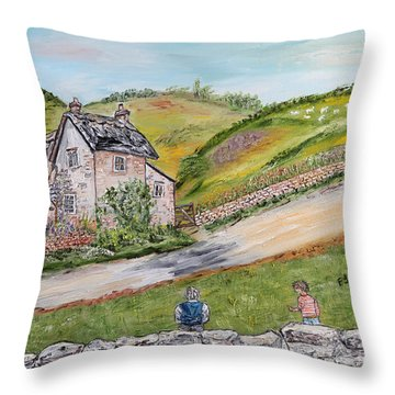 An Afternoon In June  Throw Pillow