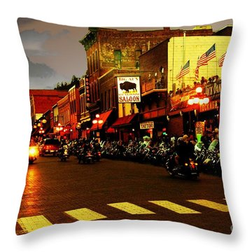 An American Dream Throw Pillow