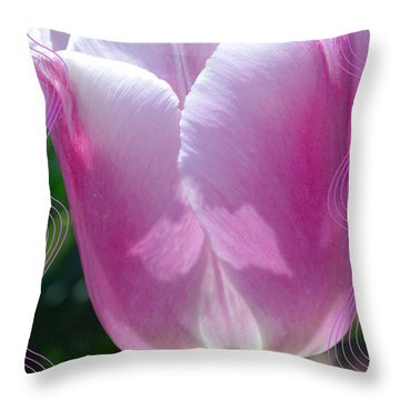 An Angel Amongst Us Throw Pillow by Lena Wilhite