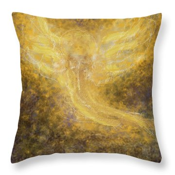 An Angel I Know Throw Pillow