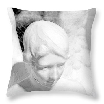 An Angel  Throw Pillow by Tommytechno Sweden