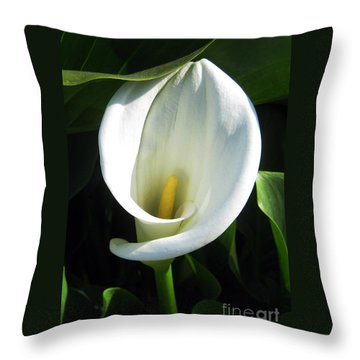 My Angels Lily  Throw Pillow