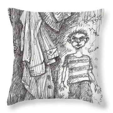 An Apartment Goblin Throw Pillow