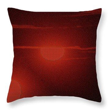 An Arrow From The Sun Throw Pillow by Jeff Swan