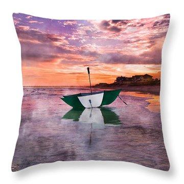 An Enchanting Evening Throw Pillow by Betsy Knapp
