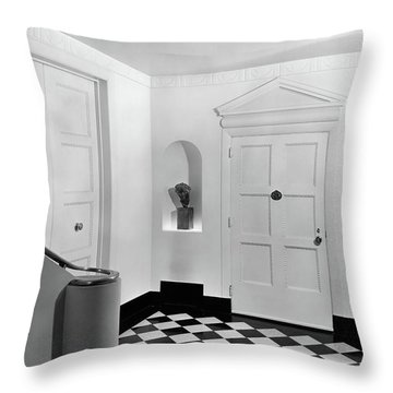 An Entrance Hall Throw Pillow