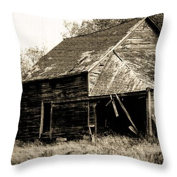 Throw Pillow featuring the photograph An Era Past by Maggy Marsh