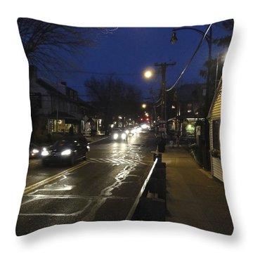 An Evening For Robert Beck Throw Pillow