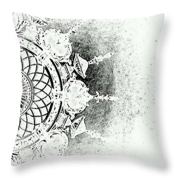 An Evening To Remember Throw Pillow by Jacqueline McReynolds
