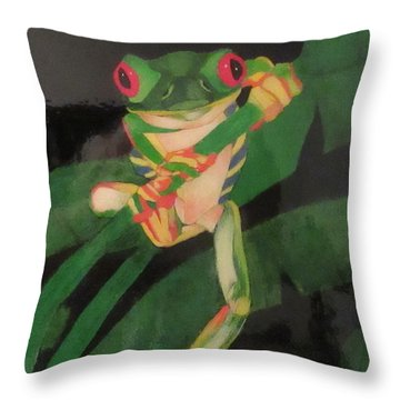 An Evening With The Prince Throw Pillow