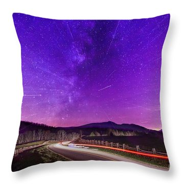 An Explosion In The Milky Way Throw Pillow