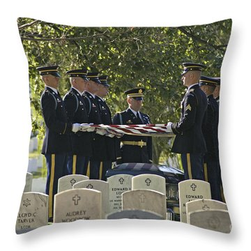 An Honored Dead Throw Pillow by Paul W Faust -  Impressions of Light
