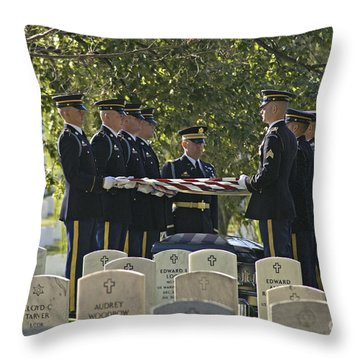 An Honored Dead Throw Pillow