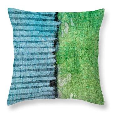 An Indirect Reflection Throw Pillow by Brett Pfister