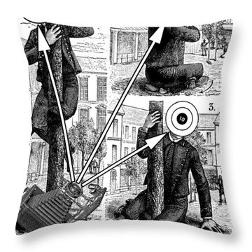 An Ineluctable Modality Throw Pillow