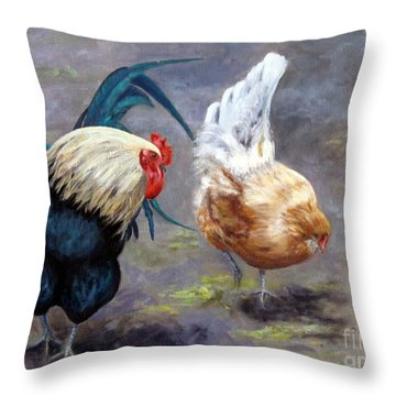 An Interesting Find Throw Pillow
