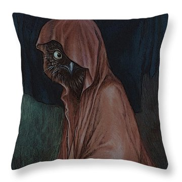 An Introvert Throw Pillow