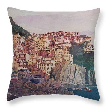 An Italian Jewel Throw Pillow