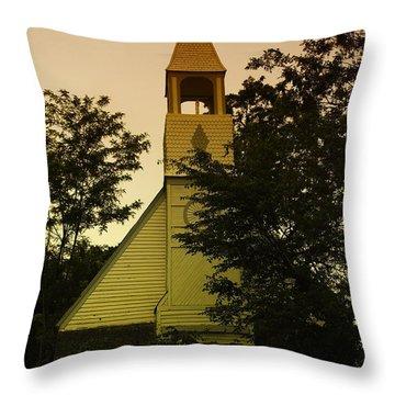 An Old Church Near Moxee Wa Throw Pillow by Jeff Swan