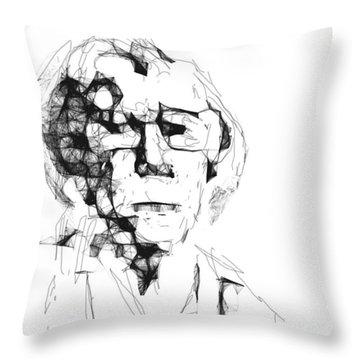 An Old Woman Throw Pillow