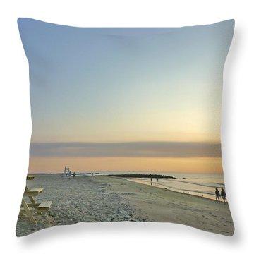 An Ordinary Summer Day Begins Throw Pillow