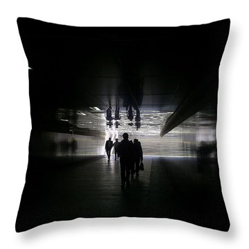 Underpass Throw Pillow