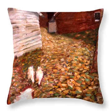 An023 Throw Pillow