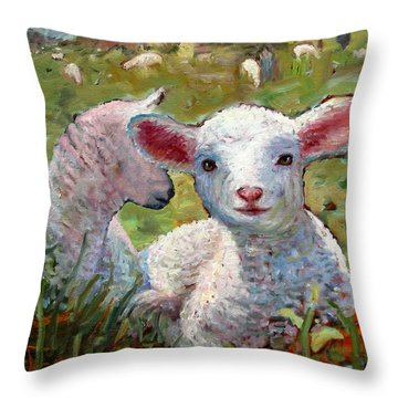 An031 Throw Pillow