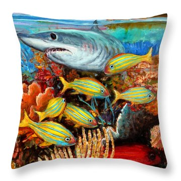 An032 Throw Pillow
