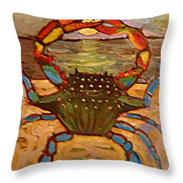 An034 Throw Pillow