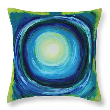 In The Heart Of The Ocean Throw Pillow