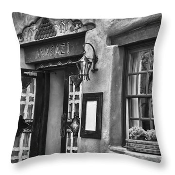 Throw Pillow featuring the photograph Anasazi Inn Restaurant by Ron White