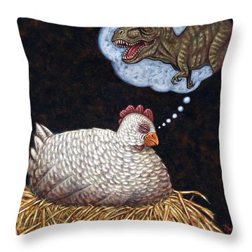 Ancestor Dreams Throw Pillow by Holly Wood
