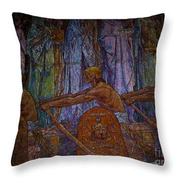 Throw Pillow featuring the photograph Ancestry by Michael Krek