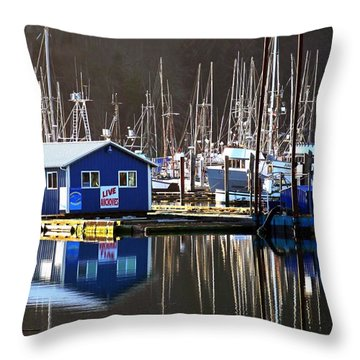 Anchovies For Sale Throw Pillow