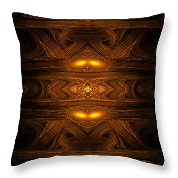 Ancient Alien Jukebox - Abstract Art By Giada Rossi  Throw Pillow by Giada Rossi