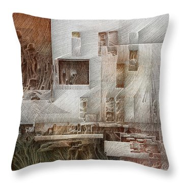 Ancient City 1 Throw Pillow