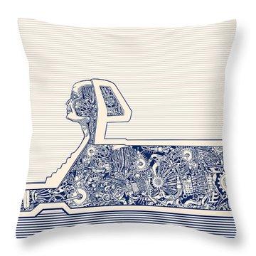 Belief Throw Pillows