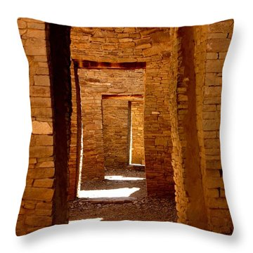 Ancient Galleries Throw Pillow by Joe Kozlowski
