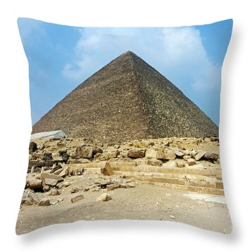 Ancient Great Throw Pillow by Anthony Baatz