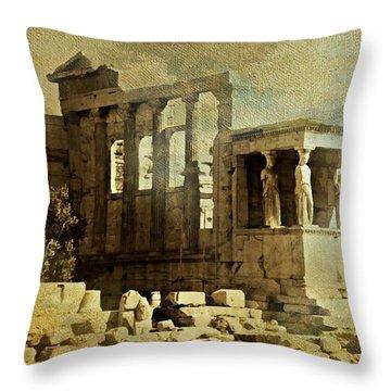 Ancient Greece Throw Pillow