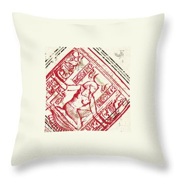 Stained Throw Pillows