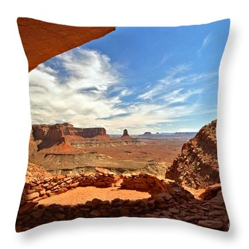 Ancient Life Elevated Throw Pillow by Adam Jewell