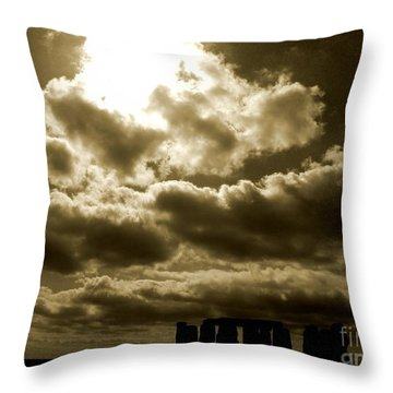 Throw Pillow featuring the photograph Ancient Mystery by Vicki Spindler
