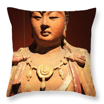 Ancient Princess Throw Pillow
