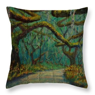 Ancient Tapestry Throw Pillow