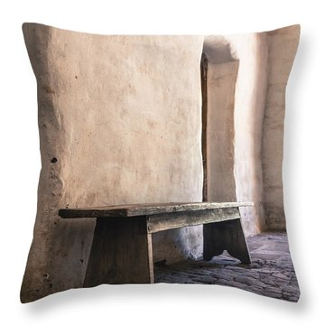 Ancient Textures Throw Pillow