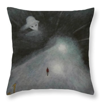 And Aliens Throw Pillow