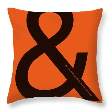 And All Became Clear Poster Throw Pillow
